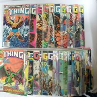 The Thing #1 - 30 (July 1983 - Dec. 1985 Marvel) First 30 Issues Two 1/2 Years