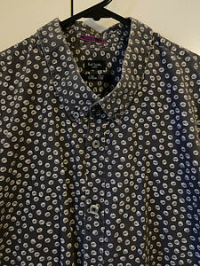 PAUL SMITH LONDON Men's Slim Fit Shirt Made in Italy