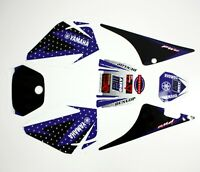 3M BLUE Decals Graphics Sticker Kit YAMAHA PEEWEE 80 PW80 PY80 Fairing Dirt Bike