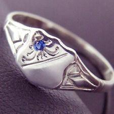 Handmade Blue Sapphire Fine Rings
