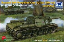 BRONCO CB35113 Russian Self-Propelled Gun Su-152 (KV-14) April 1943 in 1:35