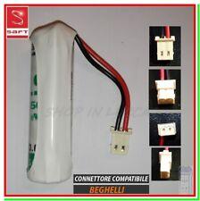 Batteria allarme INTELLIGENT BEGHELLI 8131 pila SAFT LS14500 x rilevatore