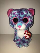 TY DREAMER LEOPARD BEANIE BOOS**JUSTICE**-NEW, MINT TAG*HARD TO FIND*SO PLAYFUL*