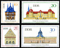EBS East Germany DDR 1968 - Significant Buildings (II) - Michel 1379-1382 MNH**
