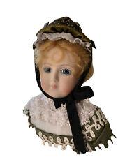 Barrois reproduction antique Bisque doll
