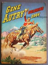Original Vintage Gene Autry Coloring Book 1949 Copyright Whitman Publishing