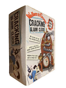 Wallace And Gromit Cracking Alarm Clock Contraption. Boxed Collectable Unused