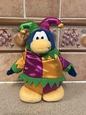 "Disney Club Penguin Series 3 Court Jester 7"" Plush Soft Toy"