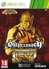 jeu SUPREMACY MMA xbox 360 en francais game spiel juego boxe free fight NEUF new