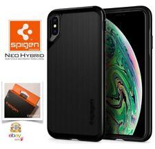 "Custodia per iPhone Apple XS MAX 6.5"" (2018) Cover Spigen [NEO HYBRID] Jet Black"