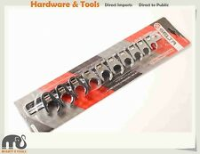 """Selta Taiwan 10pc 3/8"""" Dr Cr-V Crowfoot Wrench:10-11-12-13-14-15-16-17-18-19mm"""