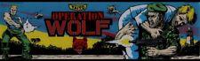 Operation Wolf Arcade Marquee – 26″ x 8″