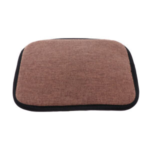 Non Slip Memory Foam Cotton Brown Office Kitchen Chair Cushion Dining Chair Pads