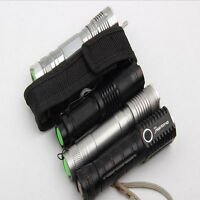 1X 14cm Portable Nylon Holster Holder Pouch Case Flashlight Torch Belt Bag SG MC