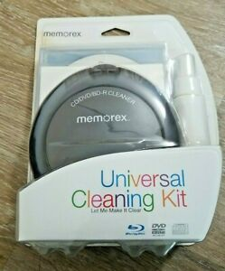 Memorex Universal Cleaning Kit CD/DVD/BD-R Sealed