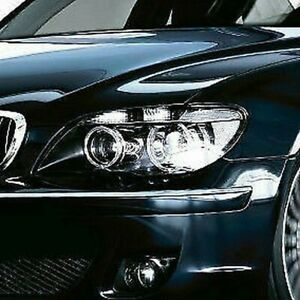 BMW OEM European Spec Clear Xenon Headlamps E65 E66 7 Series 2002-2005 Adaptive