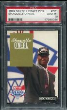 1992-93 Skybox Draft Pick #DP1 SHAQUILLE O'NEAL Orlando Magic Rookie Card PSA 10
