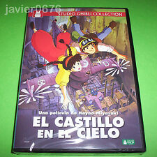 EL CASTILLO EN EL CIELO STUDIO GHIBLI DVD NUEVO Y PRECINTADO