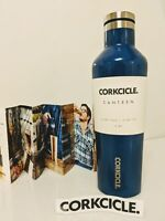 Canteen Water Bottle and Thermos, Corkcicle, 16 oz Gloss Riviera