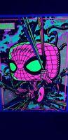 TARGET EXCLUSIVE FUNKO POP MARVEL SPIDER-MAN BLACK LIGHT POSTER FACTORY SEALED