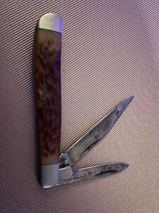 """kabar 1019 usa folding pocket 2 1/4"""" jack knife antique vtg (see Pictures)"""