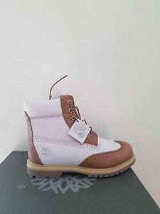 "Timberland Women's  6 inch""  Premium Brogue Waterproof Boots NIB"
