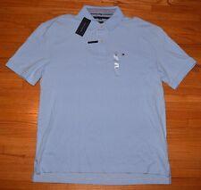 TOMMY HILFIGER Classic Fit Mesh Shirt XL Light Blue New NWT Retail $49.50