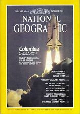 National Geographic Magazine October 1981 Space Shuttle Columbia