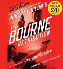 THE BOURNE RETRIBUTION unabridged audio book on CD by ROBERT LUDLUM - Brand New!