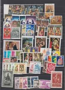 TOPICAL stamps Christian religion MH stamps (CV $210 EUR177)