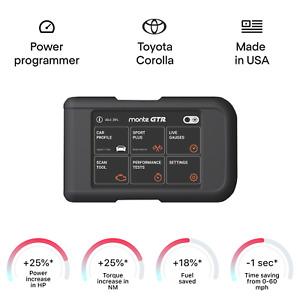 Toyota Corolla smart tuning chip power programmer performance race tuner