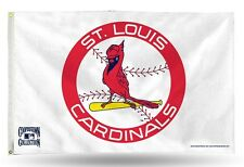St Louis Cardinals Cooperstown Authentic 3x5 Indoor/Outdoor Flag Banner MLB NWT