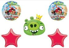 ANGRY BIRDS KING PIG Rovio Birthday Balloons Decorations Supplies Red Bird Party