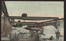 Postcard RUTLAND, VT Stone Quarry Crane #2 View 1907 ?