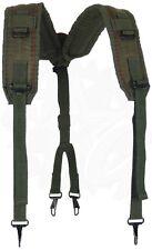 Suspenders, LC-1, For Military Pistol Belt, Olive Drab Green, Y Harness USGI