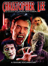 CHRISTOPHER LEE-LEGACY of HORROR and TERROR-BIOGRAPHY-SEALED-UNBEATABLE PRICES