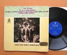 Jose Serrano La Cancion Del Olvido Castelo Cesari VOX Spanish Stereo HH 10-228