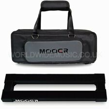 Mooer PB05 Stomplate Mini Folding Pedal Board for 5 pedals in a Soft Carry Bag