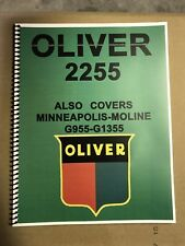 2255 Oliver Tractor Technical Service Shop Repair Manual