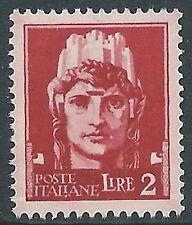 1929-42 REGNO IMPERIALE 2 LIRE MNH ** - CZ33-2