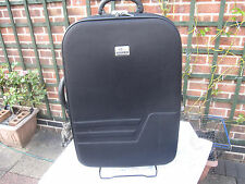 Black two wheeled trolley black case in black, collect only NG10 5HA