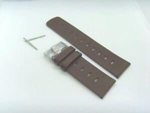 Fossil Original Rechange Bracelet en Cuir JR8252 de Montre Braun 26 MM Marron