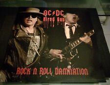 AC/DC-HIRED GUN ROCK N ROLL DAMNATION-LP RED, NUOVO NON SIGILLATO ALL'ORIG.,RARO