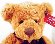 Russ Teddy Bear Macys Macy's Golden Brown Plush Soft Stuffed 14in. with Tag