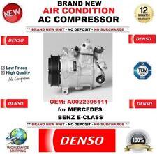 DENSO AIR CONDIZIONE Nuovo AC Compressore OEM: A0022305111 per MERCEDES BENZ E-Class