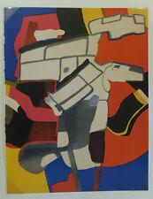Maurice ESTEVE (1904-1968) Bougri 1974, lithographie originale, Cahier d'Art XXe