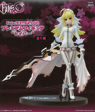 Fate Extra 8'' Saber Bride Sega Prize Figure Anime Manga NEW