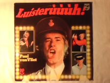 PAUL VAN VLIET Luisterùùùh! lp HOLLAND MINT -