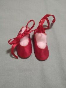 Madame Alexander? Red Satin Slippers