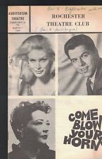 Come Blow Your Horn 1969 program Rochester NY June Wilkinson